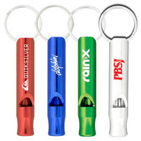 Aluminium Metal Whistle Keychain