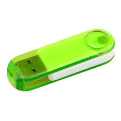 Crystalline Swivel Flash Drive