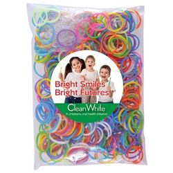 Logo Loom Bands in Polybag