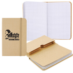 Graph Paper Notebook with Expanding File