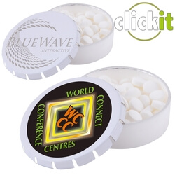 Personalised Click-It Mints