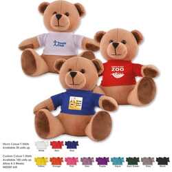 Honey Plush Teddy Bear with T-Shirt