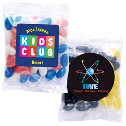 Corporate Colour Jelly Beans in 50 Gram Bag
