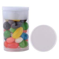 Assorted Colour Mini Jelly Beans in Dinky Tube