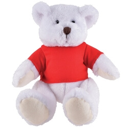 Branded Frosty Plush Teddy Bear