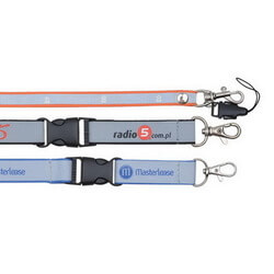 Hi-Vis Safety Reflective Lanyard