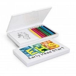 Branded Playtime Colouring Set