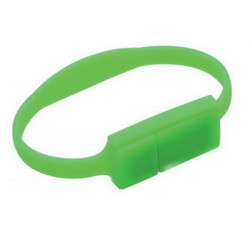 Slim Silicone Wristband Flash Drive