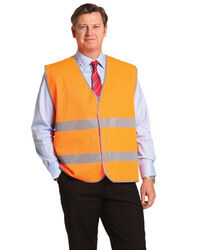 Hi-Vis Vest with Reflective Tape