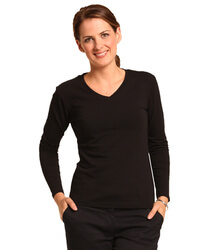 Stretch Long Sleeve Tee