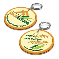 PVC Key Ring - Double Sided