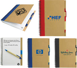 Eco Recycled Paper A5 Notebook