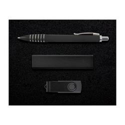 Superior Gift Set - Titan Pen, Velocity Power Bank, Swivel Flash Drive