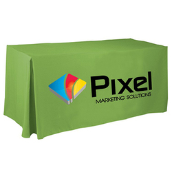 Custom 4-Sided Pleated Event Tablecloth