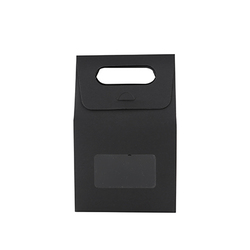 Diecut Handle Paper Bag with Window