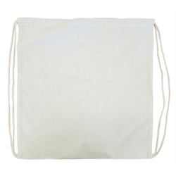 Drawstring Calico Bag