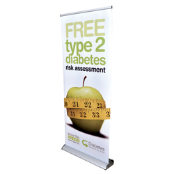 Deluxe Roll Up Banner - 850mm