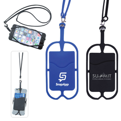 Smartphone Wallet with Lanyard