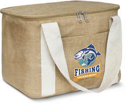 Natural Jute Cooler Bag - 13tlr