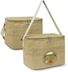 Natural Jute Lunch Cooler Bag